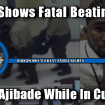 Jailhouse Video Of Matthew Ajibade's Death At The Hands Of Sheriff's Deputies
