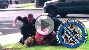 Cop Slugs Mom Repeatedly In Face In Front Of Kids For Calling Dept. To Complain