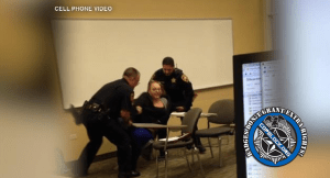Another Student Attacked by Campus Police