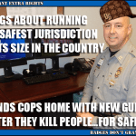 Fairfax County Sends Its Killer Cops Packing…Heat
