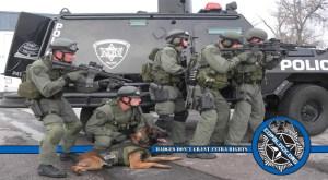 Utah Police Used SWAT Teams/No Knock Warrants Significantly More Often For Drug Crimes Than for Known Violent Criminals