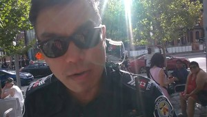 Toronto Police Threaten to Arrest Reporter and Steal Camera For Filming Public Nudist Event