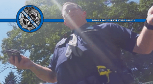 "Michigan State Police Trooper: Standing Near Road is ""Suspicious"" – Commits Illegal Detention Plus Illegal Search And Seizure"