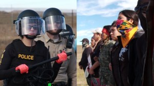Dakota Access Activists Fearlessly Confront Militarized Police Like Epic Cop Blockers