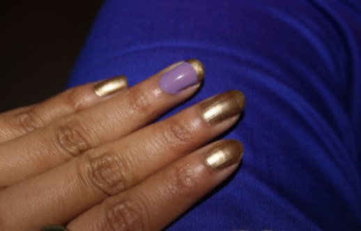 Maybelline Colorshow Bold Gold Nail Polish Review