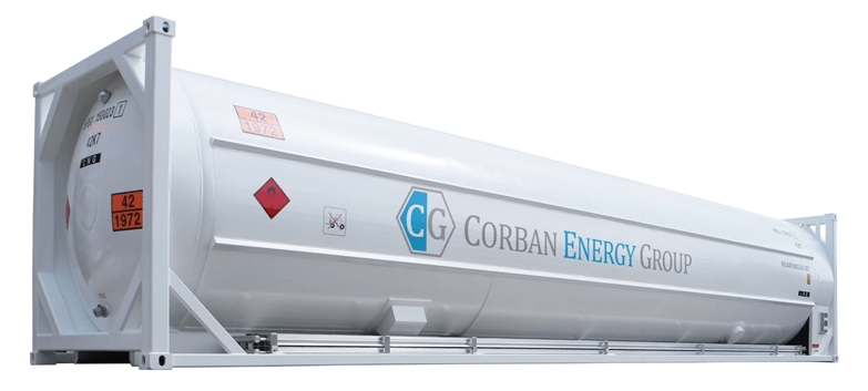 Corban's LNG ISO container