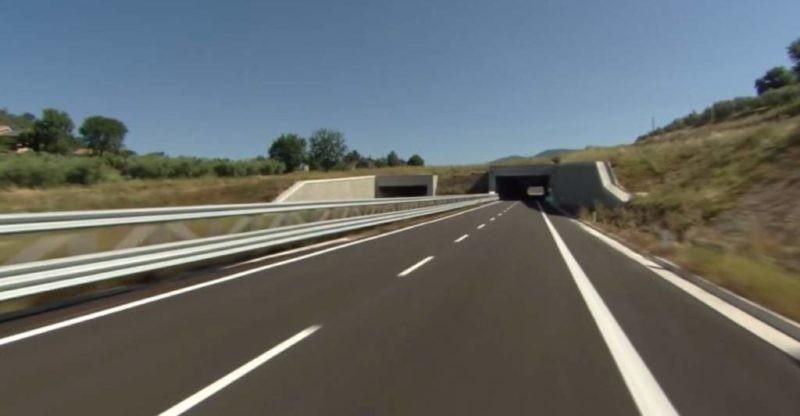 Inaugurazione SS77 e SS318, Renzi: