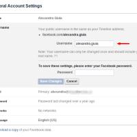 Cum sa iti personalizezi numele de utilizator pe facebook (vanity URL)
