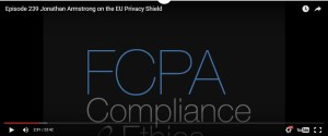 EU Privacy Shield: podcast interview with Jonathan Armstrong