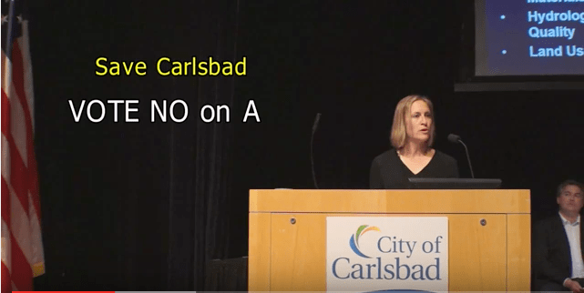 [Video] Speaking at Carlsbad Forum on Measure A