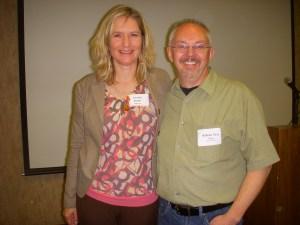 Cornelia with Paul Young