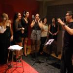 estudio atmosfera rec andujar - vivir mi vida cover flamenca - coro rociero la borriquita - making off videoclip (14)