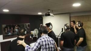 Making Videoclip of Coro Rociero La Borriquita (10)