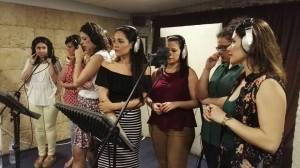 Making Videoclip of Coro Rociero La Borriquita (4)