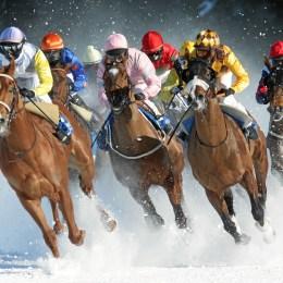 "St. Moritz, il freddo ""snic"""