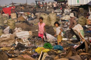 Smoky Mountain Rubbish Dump, Phnom Penh