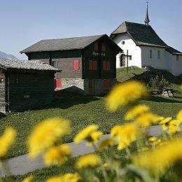 La Svizzera del Bettermalp  fresco ideale per i bambini