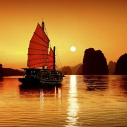 La baia di Ha Long,  il Vietnam della dolcezza