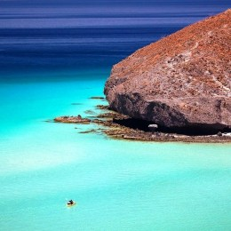 Baja California, mar da Paz