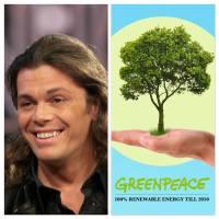 """Grignani premiato da Greenpeace: """"Rispetta la natura, non beve acqua da 3 anni"""""""