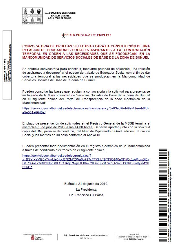 2019-06-21 12_24_41-Oferta Pública de Empleo Educadores Sociales MSSB Zona de Buñuel.pdf - Adobe Acr