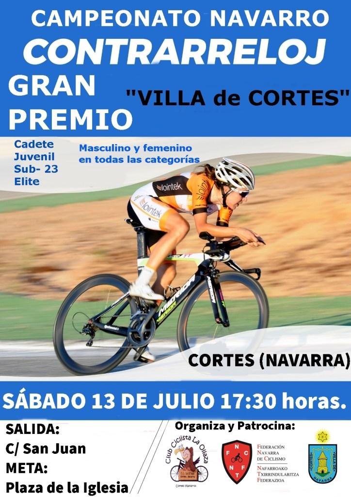 Cartel CRI Villa de Cortes
