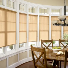 cortinas roller screen naturales comedor