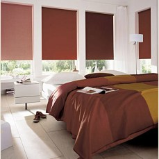 Cortinas Black Out chocolate