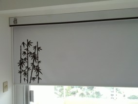 Cortinas sunscreen impresas