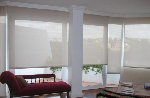 Cortinas Roller chesse lounge