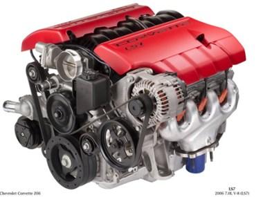 2006 Corvette Z06 LS7 Engine