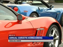 Annual Corvette Homecoming Underway