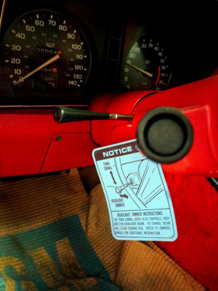 in-steeringcolumn