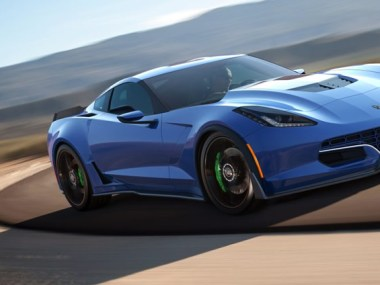 For $750,000 You Too Can Have an All Electric C7 Corvette