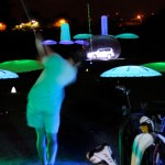 Night golf lighting ideas