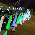 Rechargeable night golf lighting