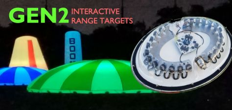 New golf target system