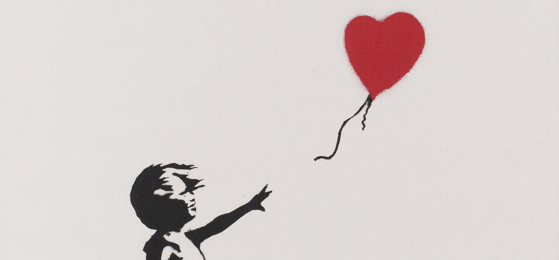 Το «Κορίτσι με το Μπαλόνι» του Banksy έγινε κομματάκια