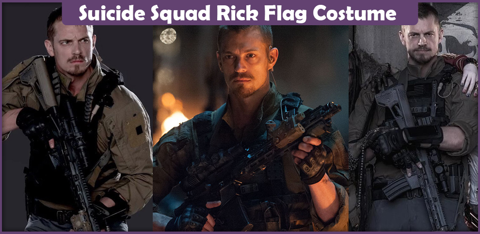 Image result for rick flag costume