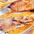 Porc cu sos de portocale