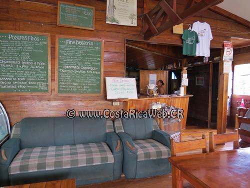 Bread & Chocolate Restaurant and Coffee Shop in Puerto Viejo, Limon, Costa Rica