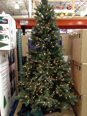 Pre Lit Christmas Trees Costco