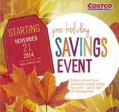Costco Pre-Holiday Coupon Book Cover