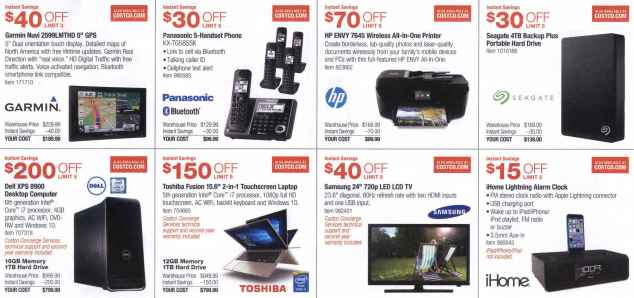 December 2015 Costco Coupon Book Page 2