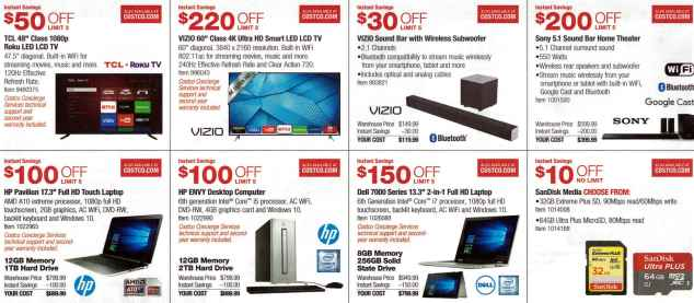 January 2016 Costco Coupon Book Page 2
