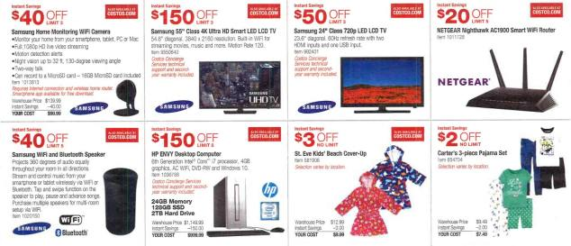 March 2016 Costco Coupon Book Page 2