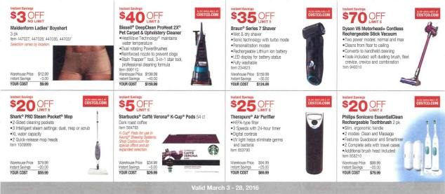 March 2016 Costco Coupon Book Page 3