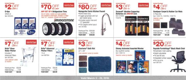 March 2016 Costco Coupon Book Page 5