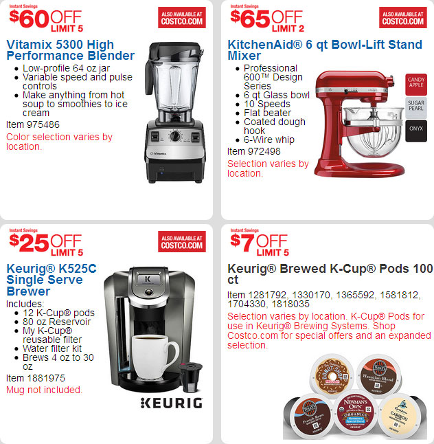 April 2016 Costco Coupon Book Page 4