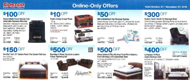 November 2016 Costco Coupon Book Page 16